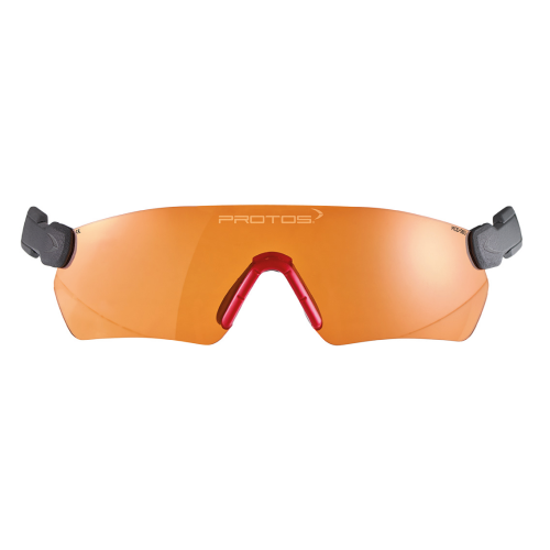 Protos Schutzbrille orange