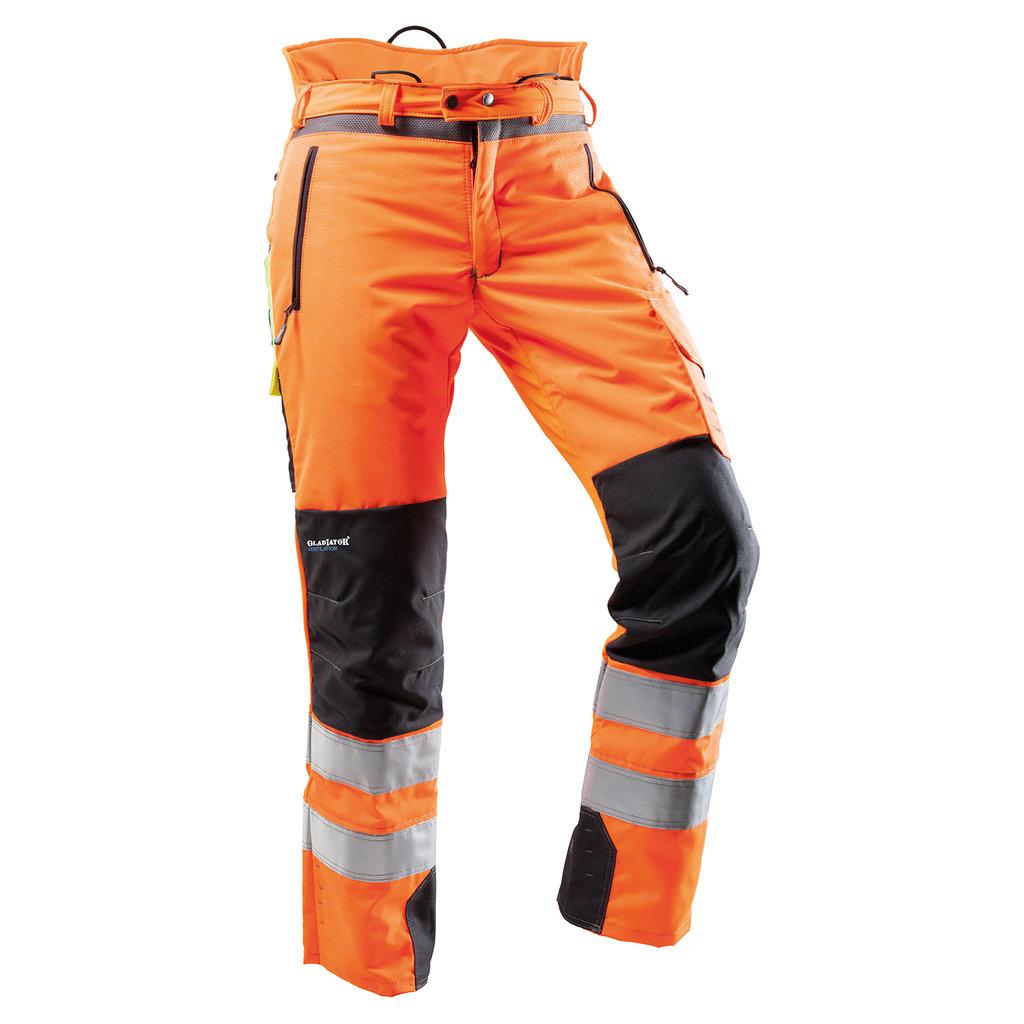 871c953342df PFANNER Schnittschutzhose VENTILATION   orange   EN 20471