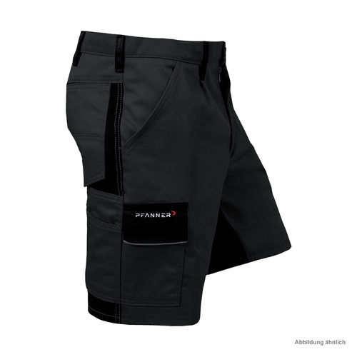 PFANNER StretchZone Canvas Shorts schwarz