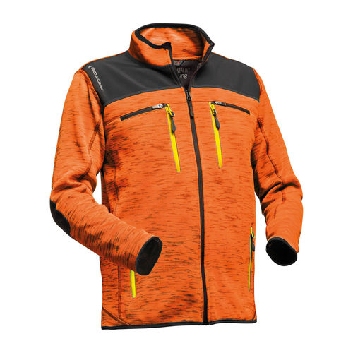 PROTOS Inuit Herrenjacke neonorange-melange